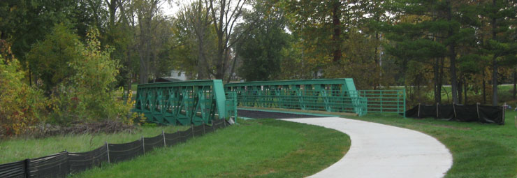 Maple City Greenway Phase V Bike Trail Header Image