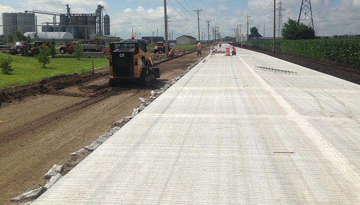 St. Joseph County Receives 2018 Indiana Excellence in Concrete Pavement Award  Header Image