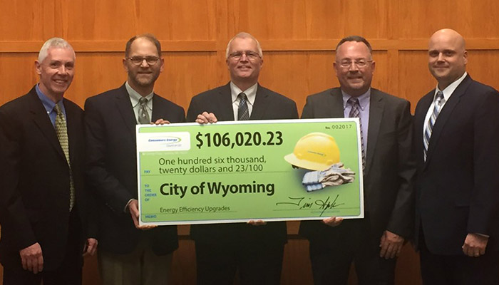 City of Wyoming Saving Energy and Money Header Image