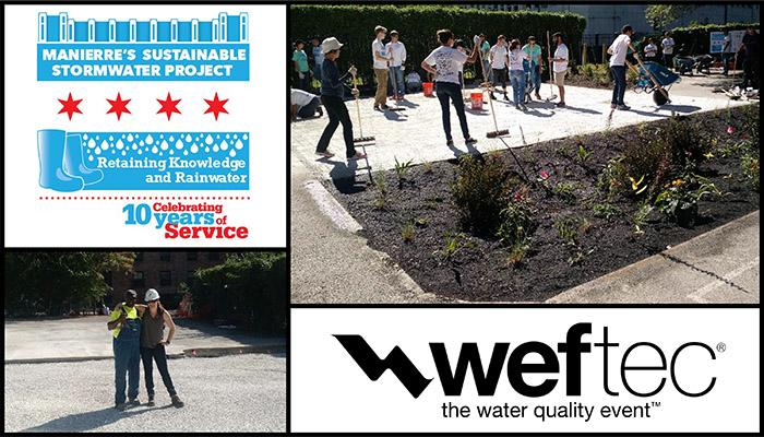 Retaining Knowledge and Rainwater at WEFTEC Header Image